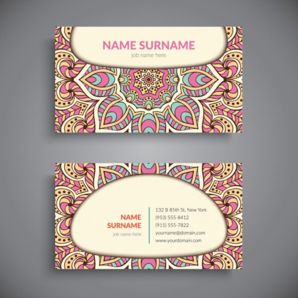 cheap printed business card