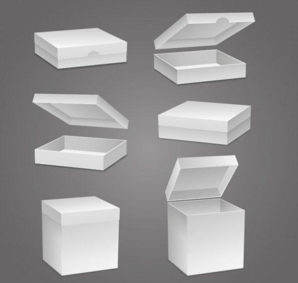 blank boxes design