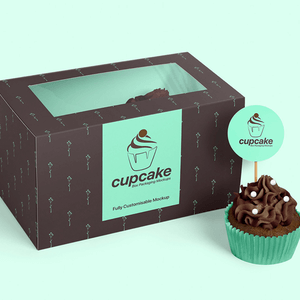 cheap custom cupcake boxes