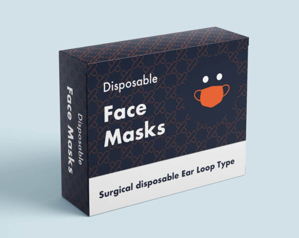 custom face mask boxes