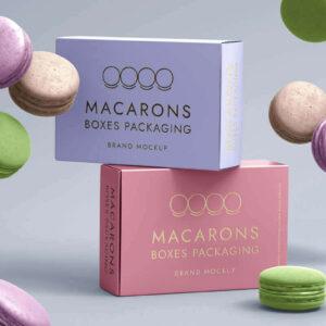 cheap custom macaron boxes