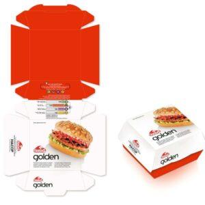 cheap custom burger boxes