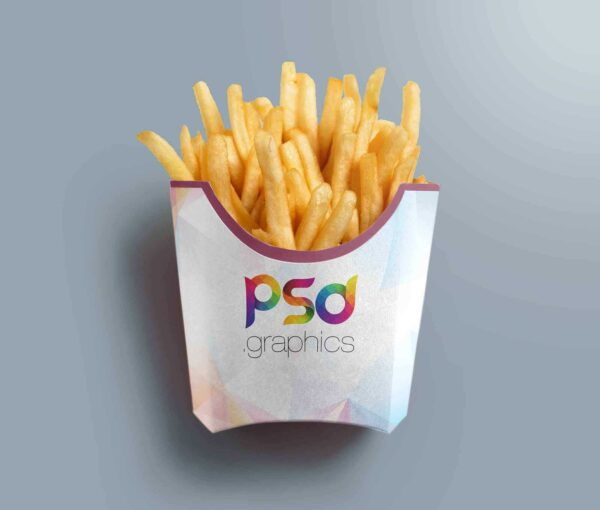 custom french fries boxes